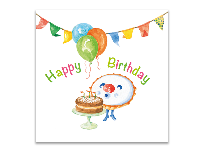 Cake-O Birthday cake